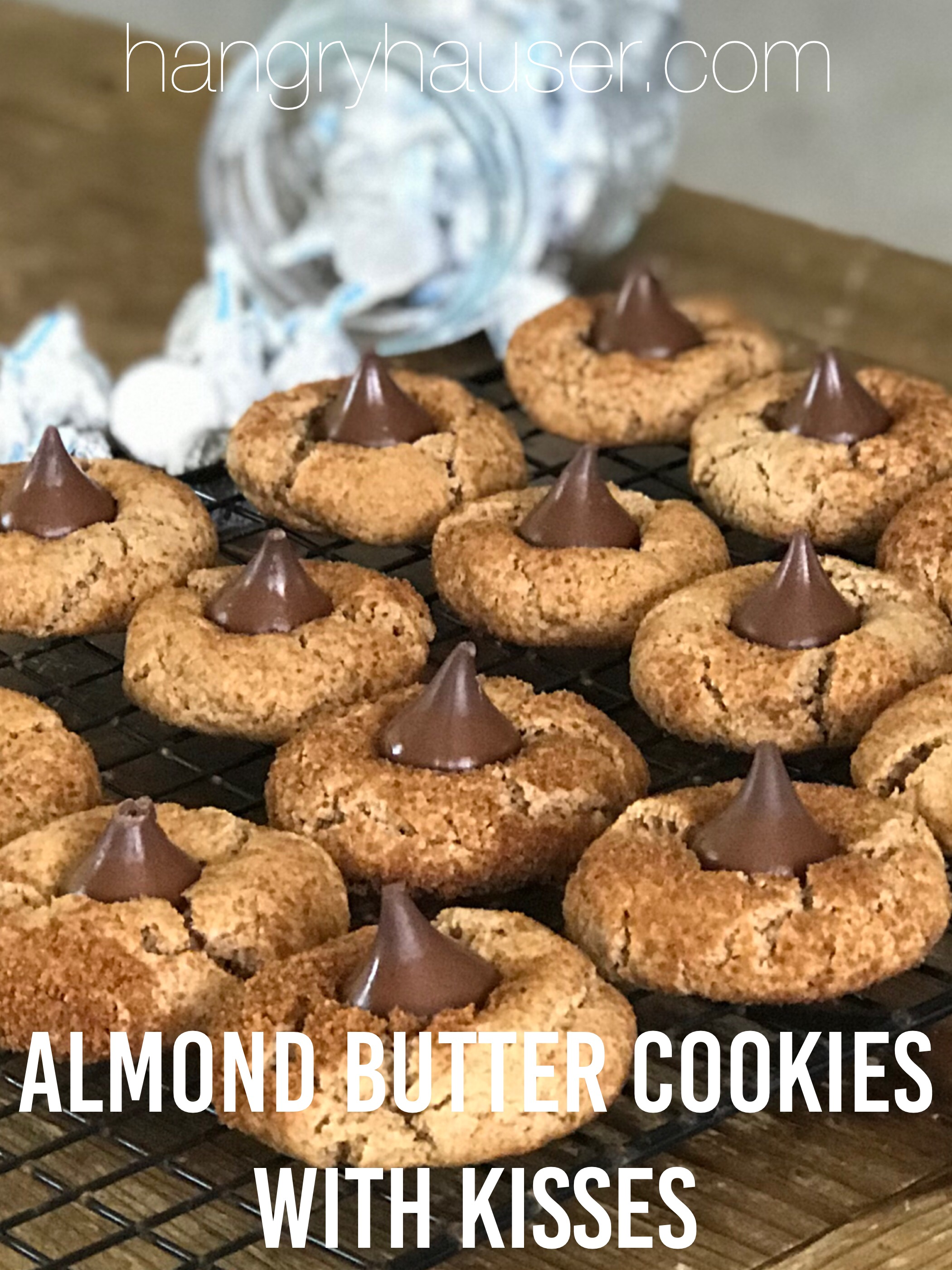 almond butter cookies pinterest