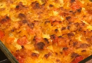 loaded egg casserole
