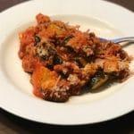 Zucchini Casserole with Marinara & Beef