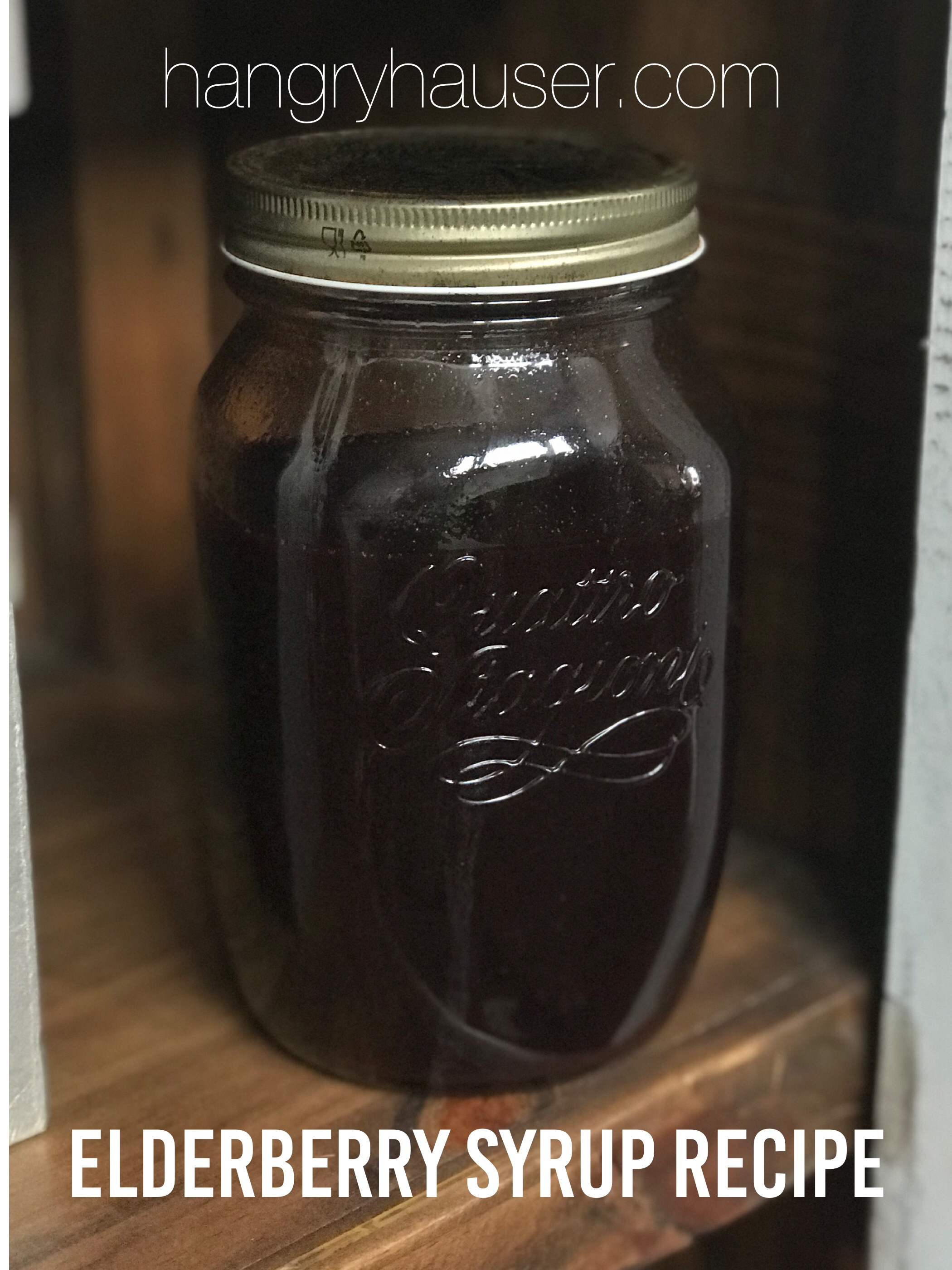 elderberry syrup recipe