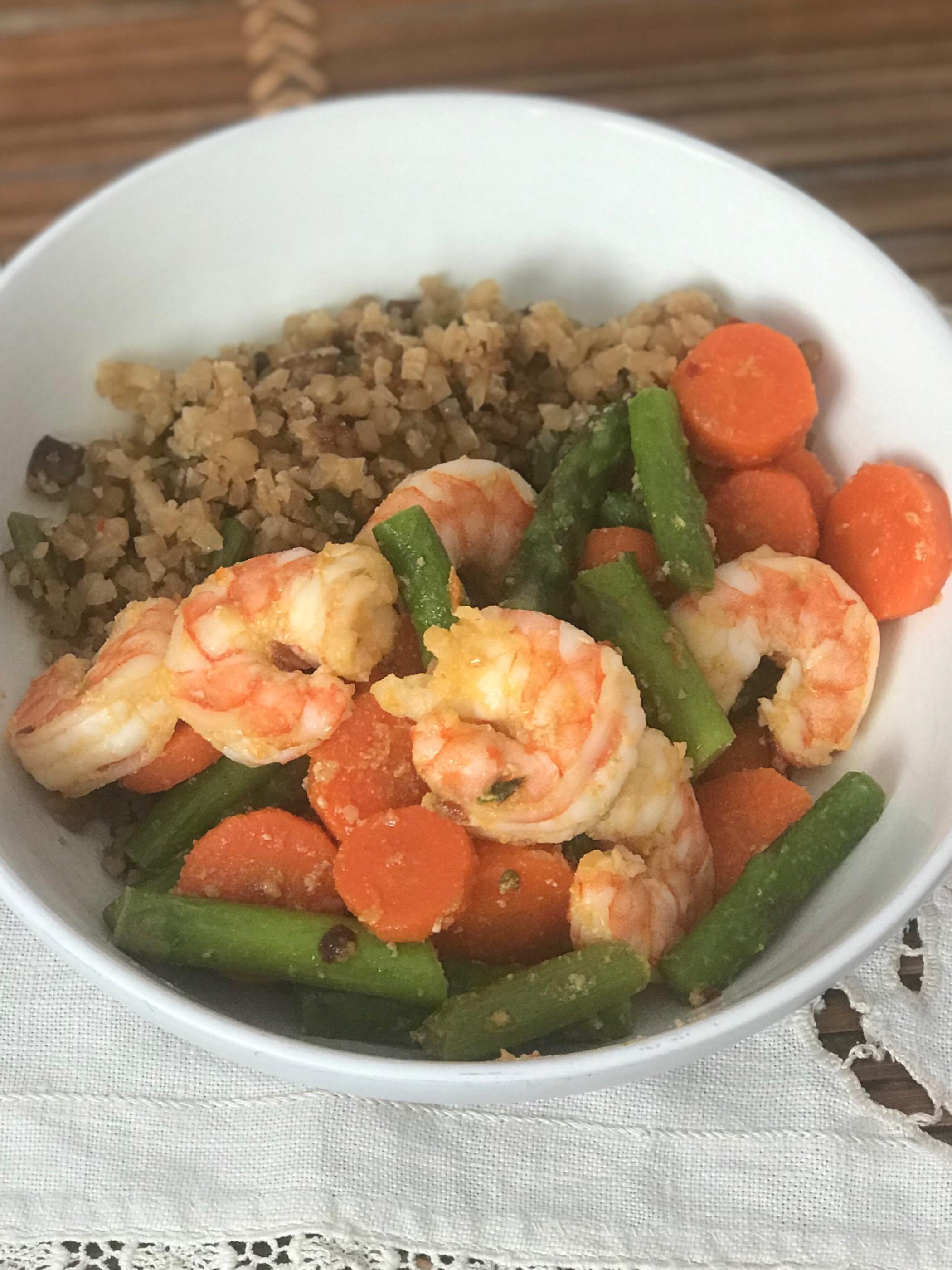 spicy shrimp stir fry